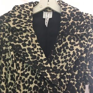 Leopard Print coat brand new
